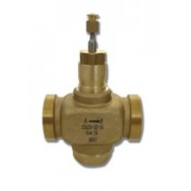 2 Port Plant Valve - 2 Port 20mm Stroke PN16 Ext Thread 50mm Kvs 40 Valves