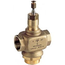 3 Port Plant Valve - 3 Port 20mm Stroke PN16 Int Thread 15mm Kvs 4.0 Valves