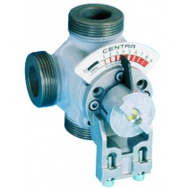 Rotary valve 3 way PN10 DN32 Kvs 10 external thread Valves