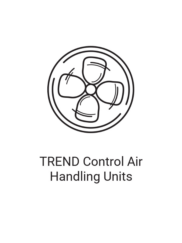 Trend Controlled Air Handling Units