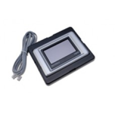 "IQView4 display panel including 3 m (9 10"") RJ11 to RJ11 RS232 cable."