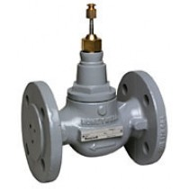 2 Port Plant Valve - 2 Port 20mm Stroke PN16 Flanged 20mm Kvs 6.3