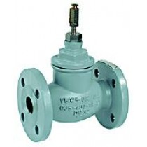 2 Port Plant Valve - 2 Port 20mm Stroke PN25 Flanged 15mm Kvs 1.0