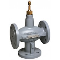 3 Port Plant Valve - 3 Port 38mm Stroke PN16 Flanged 100mm Kvs 160