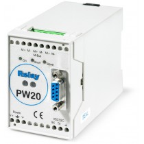 RS232/M-Bus converter for up to 20 slave devices (meters)