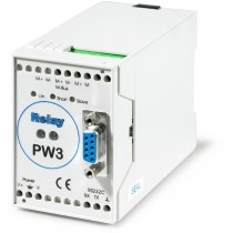 RS232/M-Bus converter for up to 3 slave devices (meters)