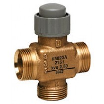 3 Port Zone Valve - 3 Port 2.5mm Stroke PN16 Connex 15mm Kvs 1.6